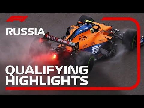 Qualifying Highlights   2021 Russian Grand Prix