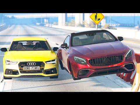 Street Racing Car Crashes #45 – BeamNG Drive | CRASHdriven