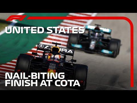 Verstappen And Hamilton's Tense Final Lap   2021 United States Grand Prix